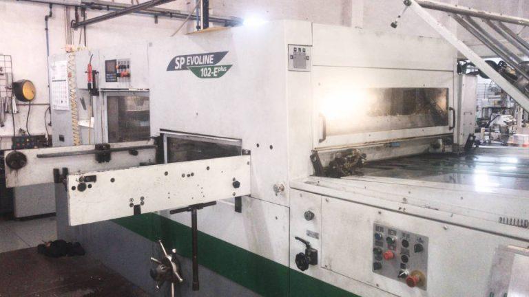 Máquina: Troqueladora BOBST EVOLINE SP102