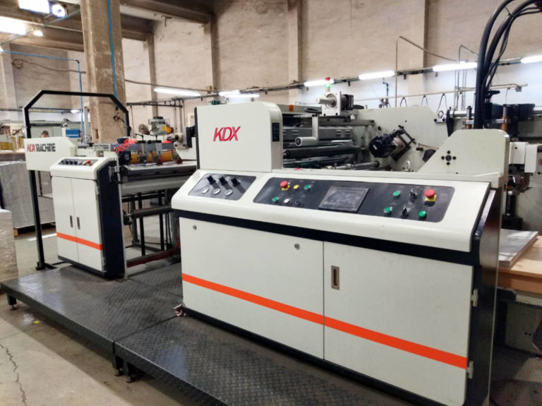 Máquina: Plastificadora Termo KDX