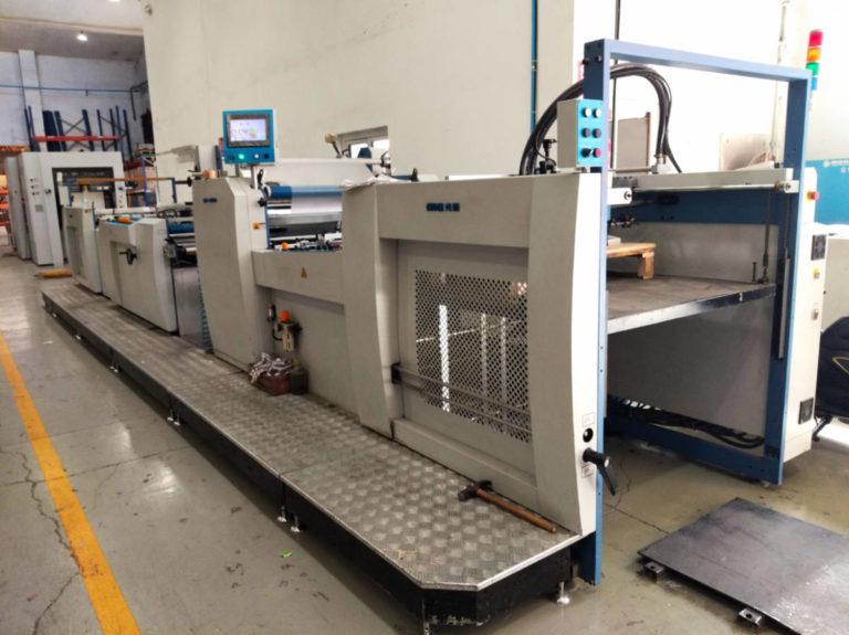 Máquina: Plastificadora SW 1050