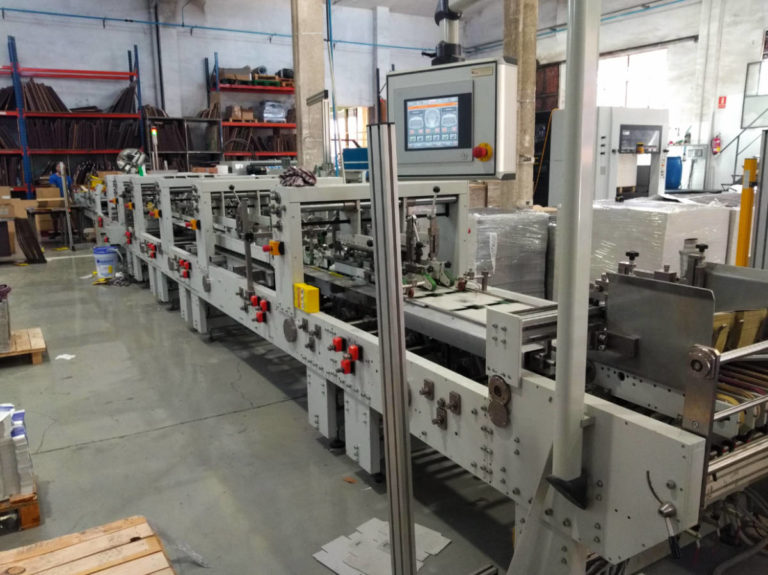 Máquina: Engomadora Versor