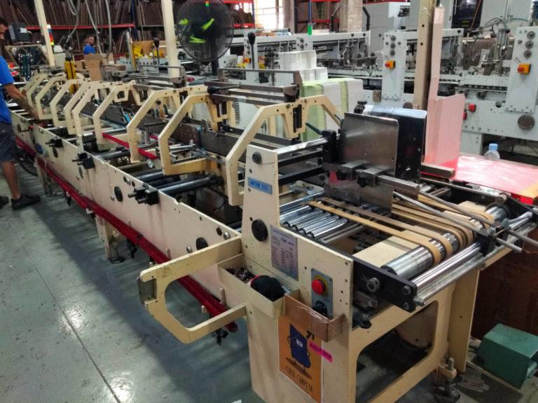 Máquina: Engomadora ANTER 550