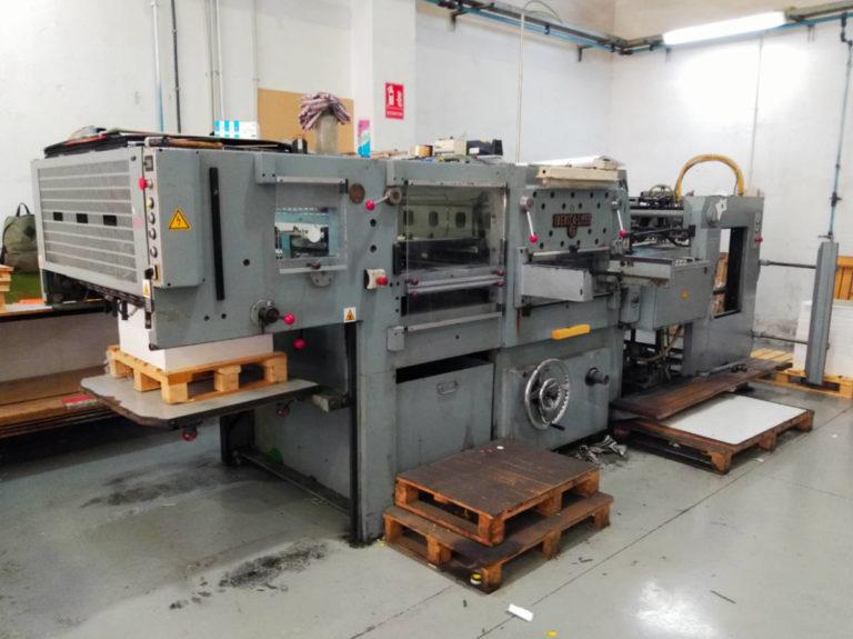 Máquina: Troqueladora automática LM55