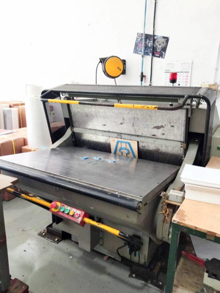Máquina: Troqueladora manual TMZ