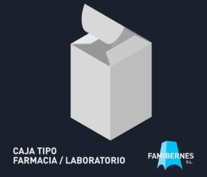Caja Lineal Tipo Farmacia o Laboratorio