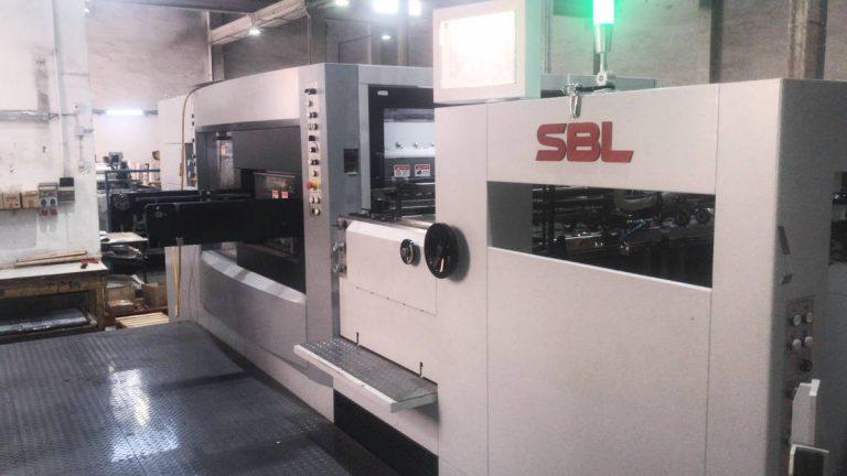 Máquina: Troqueladora SBL 106